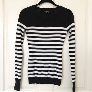 Express Dressy Striped Sweater